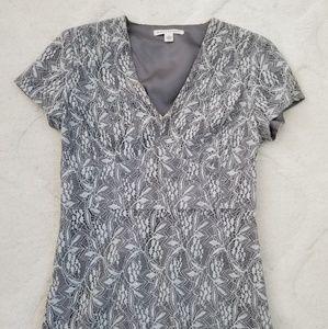 Banana Republic Lace V-neck Shirt
